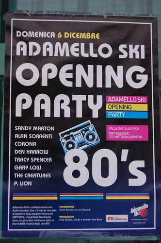 adamello ski opening party