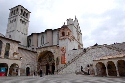 basilica inferiore e superiore