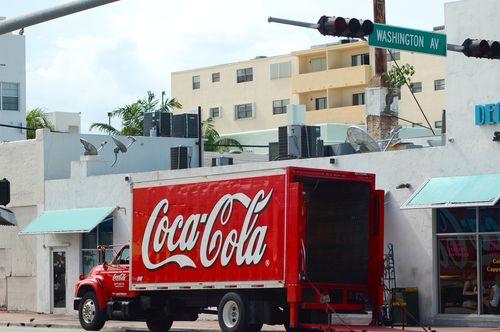 camion della coca cola