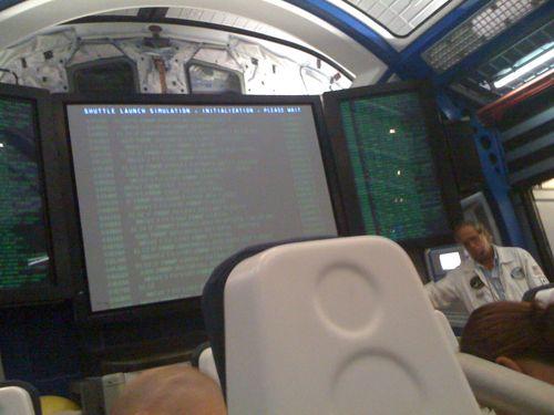 shuttle launch simulator