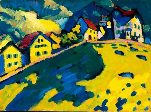 Paesaggio Estivo - Kandinsky