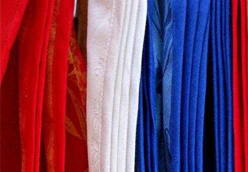 rosso bianco e blu