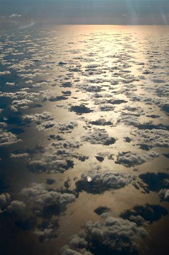 nuvole sul mare