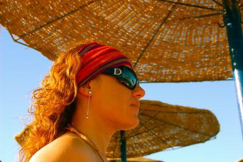 in spiaggia