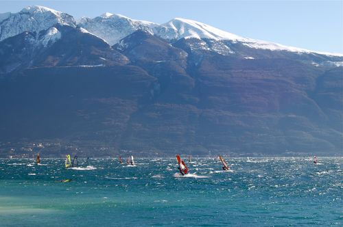windsurf d'inverno