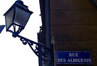 rue des albigeoises