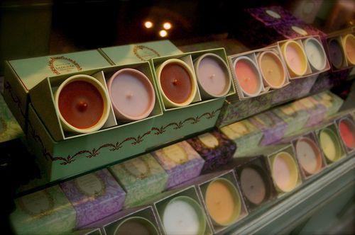 candele di cioccolato.... fondente!!!!