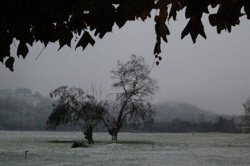 fruscio della neve
