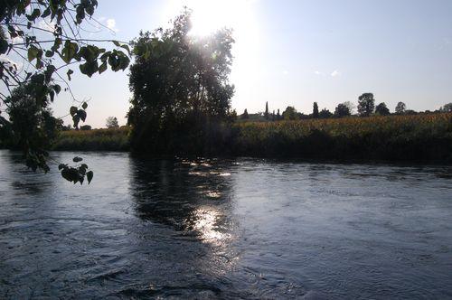 riflessi di fiume