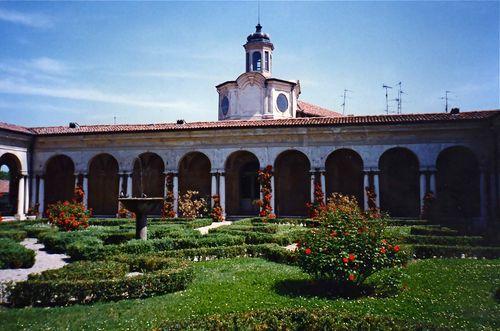 palazzo ducale - giardini interni