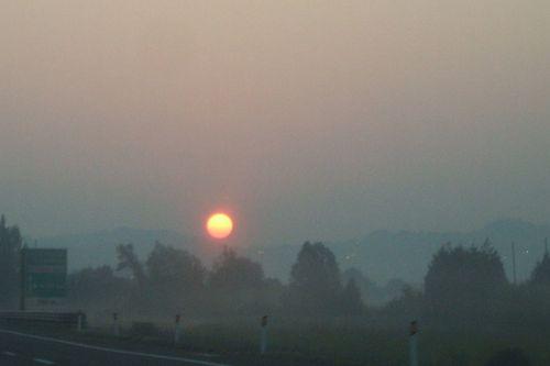 alba della partenza