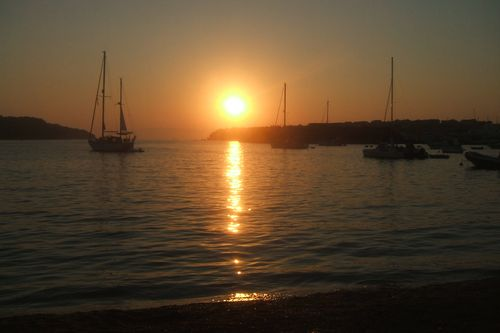 tramonto a cres