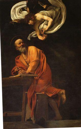 S. matteo e l'angelo
