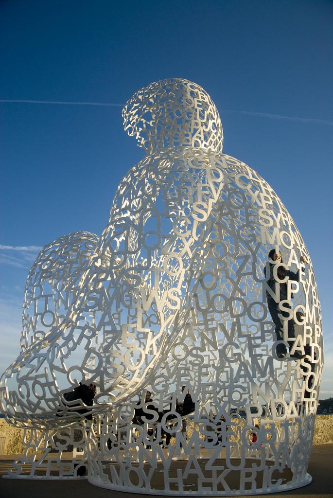 scultura abitata
