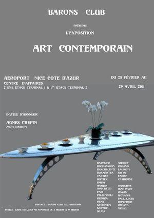Art contemporain du 28 février au 29 avril 2011